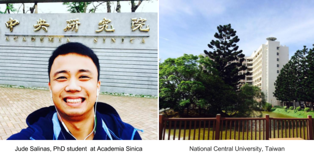 Jude Salinas, PhD Student, Taiwan International Graduate Program - Earth Systems Science Program, Academia Sinica, National Central University, Taiwan